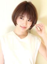 30代40代大人女性に人気ショートボブ(髪型ショートヘア)