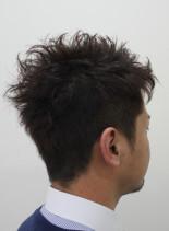 刈り上げショートスタイル(髪型メンズ)