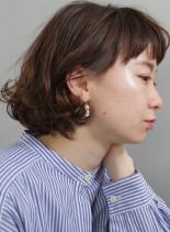 ゆるふわボブ(髪型ボブ)