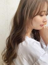 グレージュ☆ロングスタイル(髪型ロング)