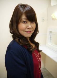 サラ艶☆大人の巻き髪スタイル