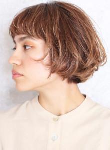 安田成美さん風カット☆大人ミディアムボブ(ビューティーナビ)