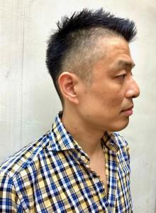 40代50代メンズ刈り上げベリーショート