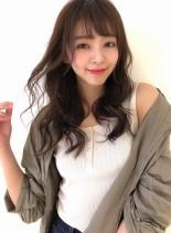 田中みな実さん風あざと可愛いロングヘアー(髪型ロング)
