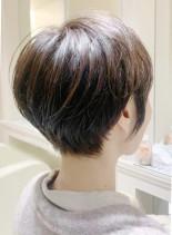 30代からの大人可愛いショート(髪型ショートヘア)