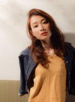 大人ニュアンスカラー(髪型ロング)
