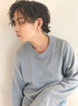 アンニュイパーマ(髪型メンズ)