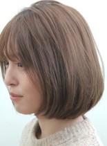 30代〜【大人可愛い】愛されひし形ボブ(髪型ボブ)