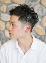 爽やか ☆ グラデーションツーブロック(髪型メンズ)