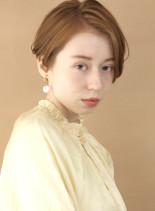 大人可愛い すっきりハンサムショート(髪型ショートヘア)