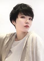 ショートヘア(髪型ベリーショート)