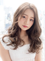 柔らかふんわりパーマ(髪型ロング)