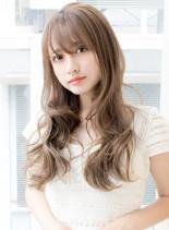 愛されシンプルパーマ(髪型ロング)