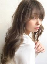 イルミナカラー☆デジタルパーマロング(髪型ロング)