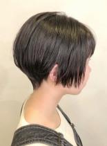 ぱっつんショートカット(髪型ショートヘア)