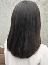 艶髪ストレート(髪型セミロング)