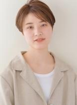 ラフ大人ショートボブ(髪型ショートヘア)