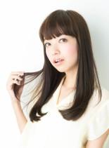 髪質改善ナチュラルストレート(髪型ロング)