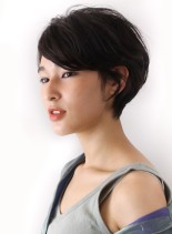 20代30代におすすめマニッシュショート(髪型ショートヘア)