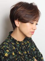 大人綺麗☆襟足スッキリショート(髪型ショートヘア)