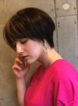 ショートカット(髪型ショートヘア)