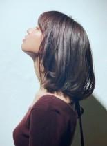 ふんわりミディアム(髪型ミディアム)
