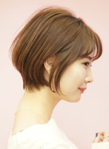 手入れ簡単☆ひし形シルエットショート(髪型ショートヘア)