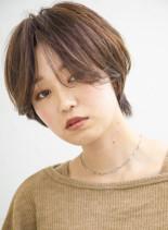 ニュアンシーショート(髪型ショートヘア)