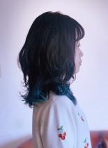 ダブルレングス(髪型ミディアム)