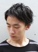 メンズナチュラルショート(髪型メンズ)