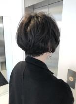 無造作柔らかショート(髪型ショートヘア)