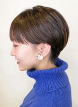 耳周りスッキリハンサムショート(髪型ショートヘア)