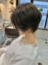 ハンサムショートカット(髪型ショートヘア)