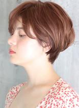 耳掛け◇ひし形ショートボブ(髪型ショートヘア)