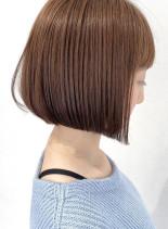 艶髪ボブ(髪型ボブ)