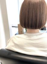 美シルエットカット(髪型ボブ)