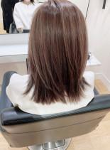 美シルエットカット(髪型ミディアム)