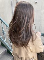 美シルエットカット(髪型ロング)
