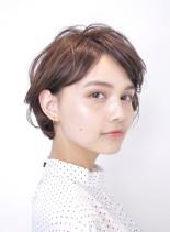 大人可愛いショート(髪型ショートヘア)