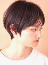 シースルーバング☆タイトマッシュショート(髪型ショートヘア)