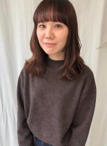 美シルエットミディアム(髪型セミロング)