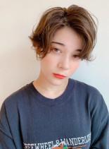 ハンサムマッシュショート(髪型ショートヘア)