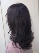 クールアッシュロング♪(髪型セミロング)