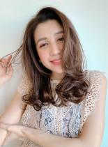 ラフロングレイヤー×パーマ(髪型ロング)