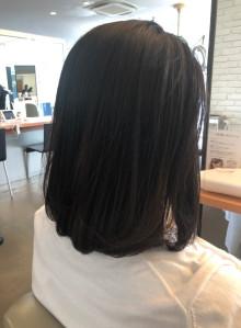 艶髪ロングボブ