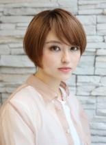 大人女子に人気のひし形ショートボブ(髪型ショートヘア)
