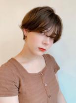 大人可愛いナチュラルマッシュショート(髪型ショートヘア)