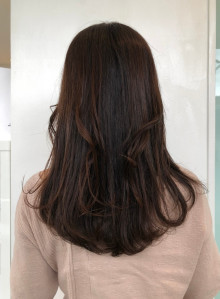 ふんわり艶髪