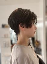 スッキリハンサムショート(髪型ショートヘア)