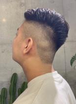 スッキリFADEショートヘアー(髪型メンズ)